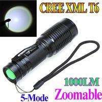 Светодиодный фонарик TrustFire TR-J18 Trustfire tr/j18 5 8500 7 X CREE Xm/l T6 18650 26650 H9366