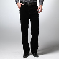 High quality thermal loose old-age male casual corduroy thermal Men fashion commercial corduroy casual pants