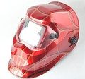 New Arrive Red Spider Web Pro Auto Darkening CE Welding Helmet Mask XD ART(China (Mainland))