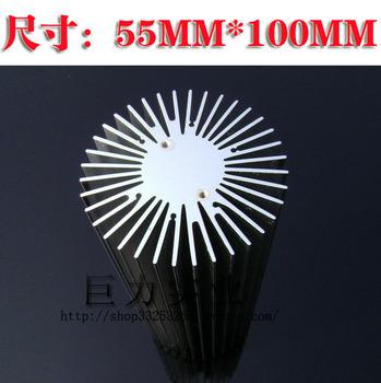 Hot sale Free shipping! 10w led radiator aluminum alloy radiator high power led cylindrical radiator led slitless radiator