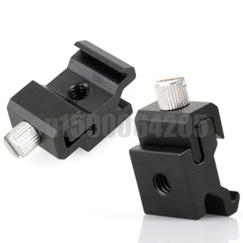 "Free shipping worldwide +tracking number 10Hot Shoe Flash Stand Adapter with 1/4""-20 Tripod screw(China (Mainland))"