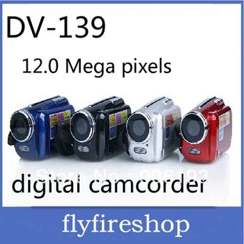 "Free shipping 1.8"" TFT 12.0 MP Digital Video Camcorder Camera mini DV 139"