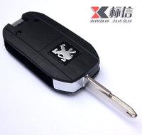 The mark 206 folding key peugeot 207 key refires 307 refit c2 remote control car key citroen  Free shipping