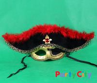 free shipping 10pcs/lot  fashion mask Christmas mask beautiful pirate masks, 3 colors for choose