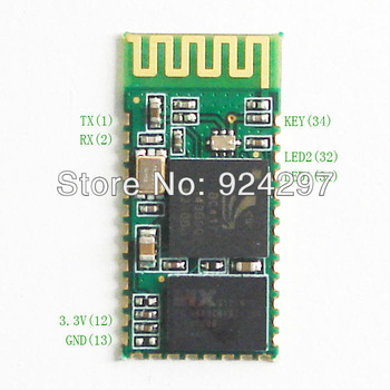 wholesale HC 05 RF Wireless Bluetooth Transceiver Module RS232 / TTL to UART converter and adapter 50PCS/LOT