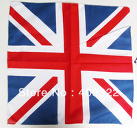 Hot 100% Cotton UK Union Jack flag bandana Head Wrap Scarf Neck Warmer Double Sided Print