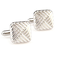 Men the shop light plain series male square cufflinks nail sleeve 158114