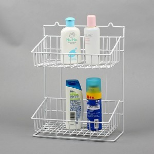 Shelf shower gel shampoo storage management rack hanging corner bracket wall hanging rack(China (Mainland))