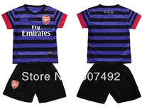 2012/2013 kid's jersey,Arsenal kid's,SOCCER uniforms, arsenal kid's jerseys set embroidery logo,fast shipping