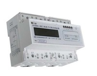 Three Phase KWH Meter,DIN Rail single phase  Watt-hour KWH Energy Meters 10(40)A  free shipping!