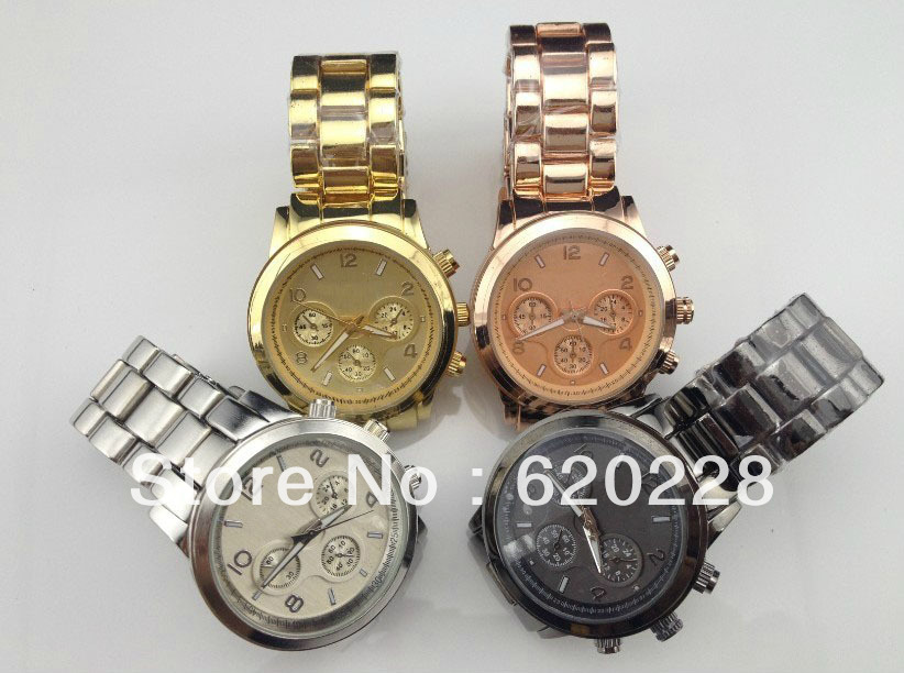 Free Shipping!!!!! Fashion BRAND watch Quartz watch with date + Janpanese movement Wholesale price in stock(China (Mainland))