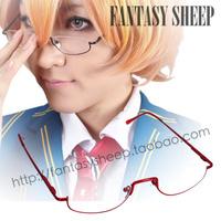 Cosplay half-frame glasses aph