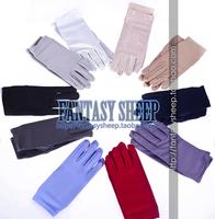Cosplay gloves full 11 ! black-and-white !