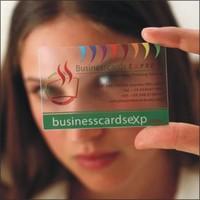 Pvc transparent business card business card business card business card h0438