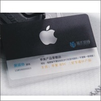 Pvc transparent business card business card business card business card h0686