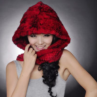 2012 rex rabbit hair fur hat perimeter cap winter hat millinery rabbit fur cotton cap