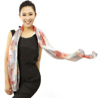Scarf female spring and autumn silk scarf silk rustic air conditioning cape lsy480066