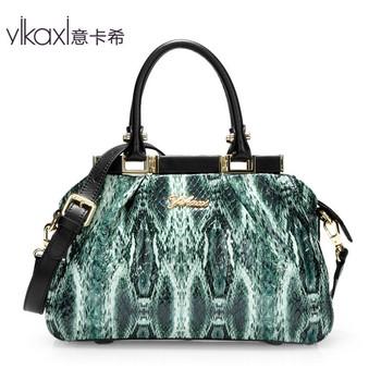 Italian Cashin handbags 2013 new handbag female European and American high-end fashion snakeskin pattern Women's Bag ST2057