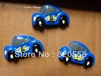 Wholesale deep blue car FlatBack Resins Scrapbooking Embellishment 50pcs  Free Shipping