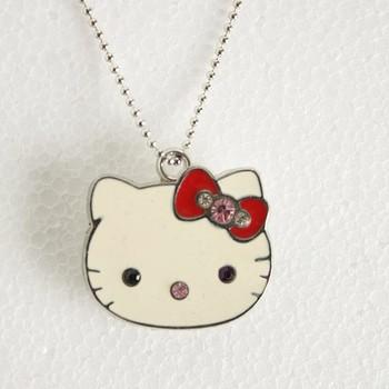 Fashional Cute Hello Kitty Model 4GB 8GB 16GB USB 2.0 Flash Memory Stick Pen Drive Thum/Car/Pen U Disk