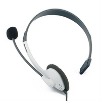 free shipping Earphone Headset headphone+ microphone For XBOX 360 LIVE