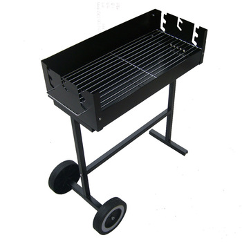 Outdoor field frame hadnd BBQ grill rack