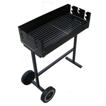 Outdoor field frame hadnd BBQ grill rack