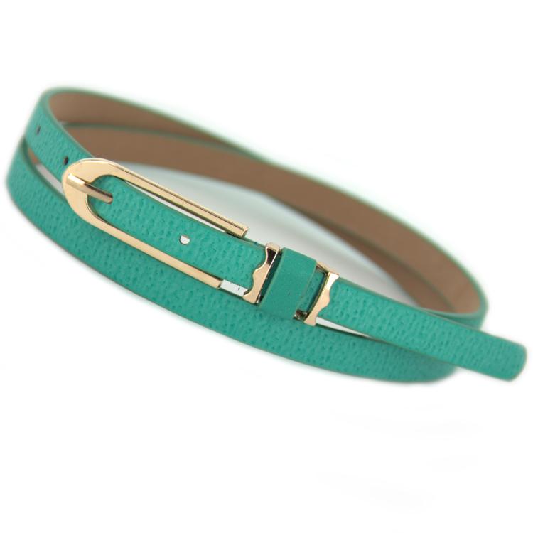Free shipping 2014 new ladies fashion Thin belt female decoration mixed pigskin thin belt women small strap belly chain belts(China (Mainland))