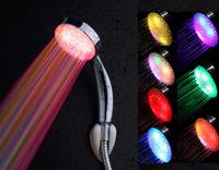 Led shower colorful shower light shower colorful shower luminous shower head light head