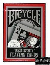 Free shipping Bicycle tragic royalty deck halloween(China (Mainland))