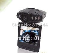 "Free shipping  H198 Car DVR Video Registrar with 115 Degree View Angle 2.5"" LCD 6 IR LED Night Vision DVR Car Camera"