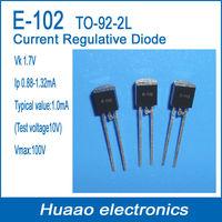 CRD  Current Regulative Diode E-102 TO-92-2L  LED Application Pinch-Off Current Ip 0.88-1.32MA(Test Voltage 10V)