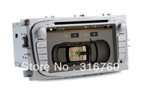 T8618G Ford Mondeo New Focus 08 S-Max Car DVD Player with GPS Bluetooth Phonebook ipod Steering Wheel Control