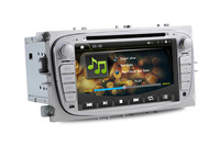 Ford Mondeo New Focus 08 S-Max Car DVD Player with GPS Bluetooth Phonebook ipod Steering Wheel Control