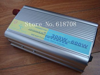 Pure Sine Wave Power Inverter 300W / 600W DC 12v - AC 210v 220V 230v 240V free shipping