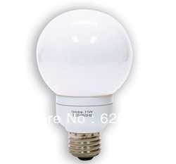 GE Lighting 47484 11 Watt, 40-Watt Equivalent, Energy Smart G25 Globe CFL 9 Year Life Light Bulb(China (Mainland))