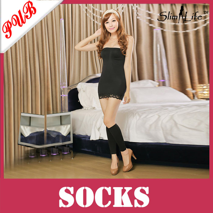 Free Shipping Hot Sale Pressing Sleeping Beauty Massage Leg shaper Slimming Leggings Ladies Shapewear(China (Mainland))