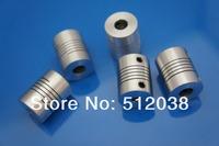 50pcs/lot  5mm to 8mm cnc Motor  shaft coupling , 5*8 mm Flexible  Coupler