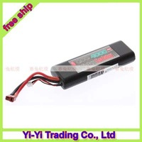 Register free shipping +100% Original GENSACE ACE New Design High Quality 7.4V 4000MAH 25C 2S Lipo Battery for rc car