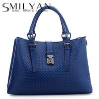 Smilyan 2013 plaid knitted small fresh women's handbag fashion handbag fashion one shoulder bag