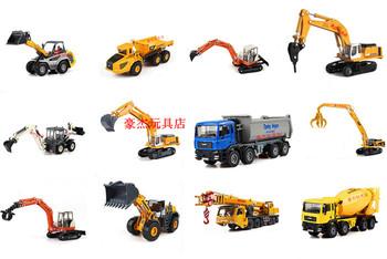 Alloy car models alloy engineering car mining machine crane cement mixer truck car model toy car