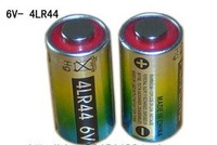 Free ship 4pcs/lot 4LR44 6V alkaline battery