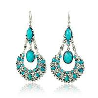 Free shipping Vintage Bohemia Drop Earrings Fashion Jewelry Wholesale Quality Guaranteed V-FE101127