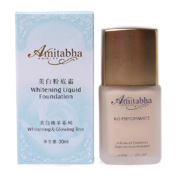 Energizing whitening foundation cream 30ml smoothens