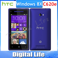8X Original HTC Windows Phone 8X C620e  GPS WIFI 4.3''TouchScreen 8MP camera 16GB Internal Unlocked Cell Phone