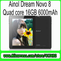 Ainol Novo 8 Dream Quad Core 8 inch Android 4.1 1G/16G Tablet PC Actions ATM7029 1.2GHz Dual Camera