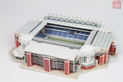 LITU 3D PUZZLE/JIGSAW PUZZLE/TOYS_children/adults_playing football_stadium Style No.1911(China (Mainland))