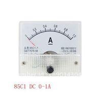 85C1-A DC 0-1A Analog Amperemeter Panel Meter Gauge