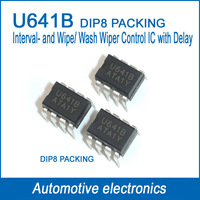 Automotive Interval and Wipe/Wash Wiper Control IC   U641B  U641  DIP8