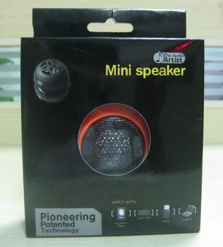 Factory Price Portable Hamburger Mini Speaker for iPhone iPod PC Laptop MP3 MP4 3.5MM Audio Jack free shipping DHL/EMS